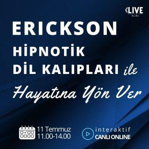 Erickson Hipnotik Dil Kalıpları ile Hayatına Yön Ver!