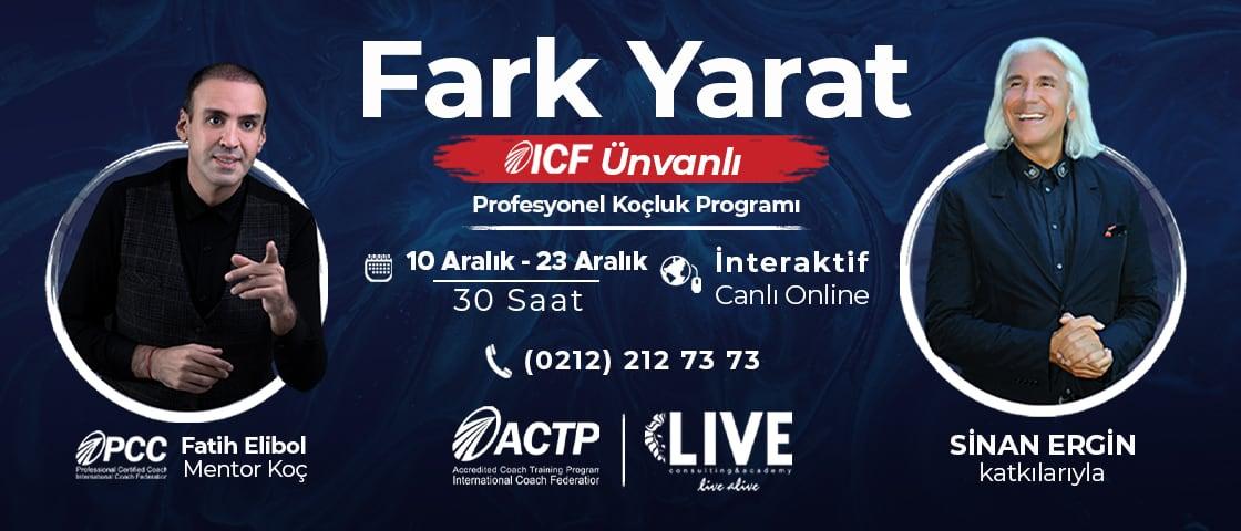 ICF Ünvanlı Profesyonel Koçluk İnteraktif Canlı Yayın Eğitimi