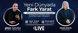 """""""Certified Coach"""" Eğitim Programı İnteraktif Canlı Yayın Eğitimi"""