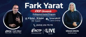 ICF Ünvanlı Profesyonel Koçluk Programı