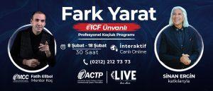 ICF Ünvanlı Profesyonel Koçluk