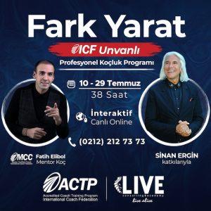 ICF Unvanlı Profesyonel Koçluk Programı